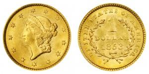 $1 Liberty Coin - Type 1