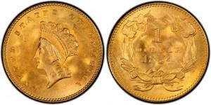 $1 Liberty Coin - Type 2