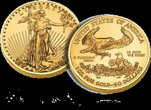 1 oz American Eagle Gold coin
