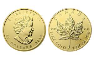 1 oz Canada Maple Leaf