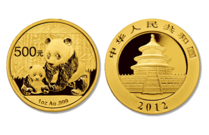 1 oz gold Chinese Panda