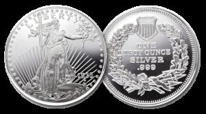 1 oz Silver round coin