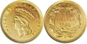 $3 Indian Princess Coin