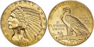 $5 Indian Gold Coin