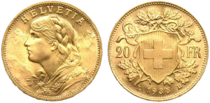 Swiss 20 Franc